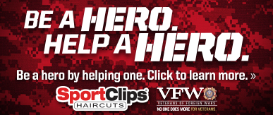 Sport Clips Haircuts of Alexandria - Ft Belvoir​ Help a Hero Campaign